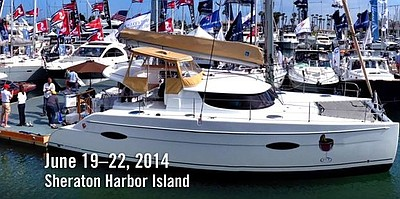 Promotional photo for Progressive® Insurance's Boat Show.