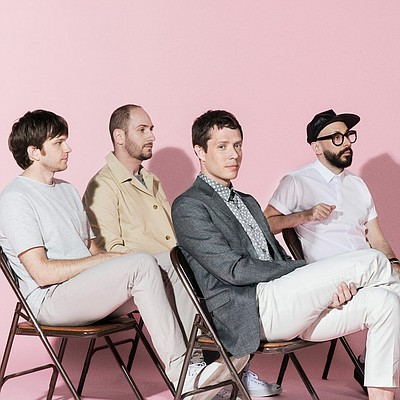 Promotional photo of alternative rock group, OK Go.