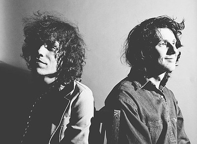 Promotional photo of indie rock band, Foxygen.