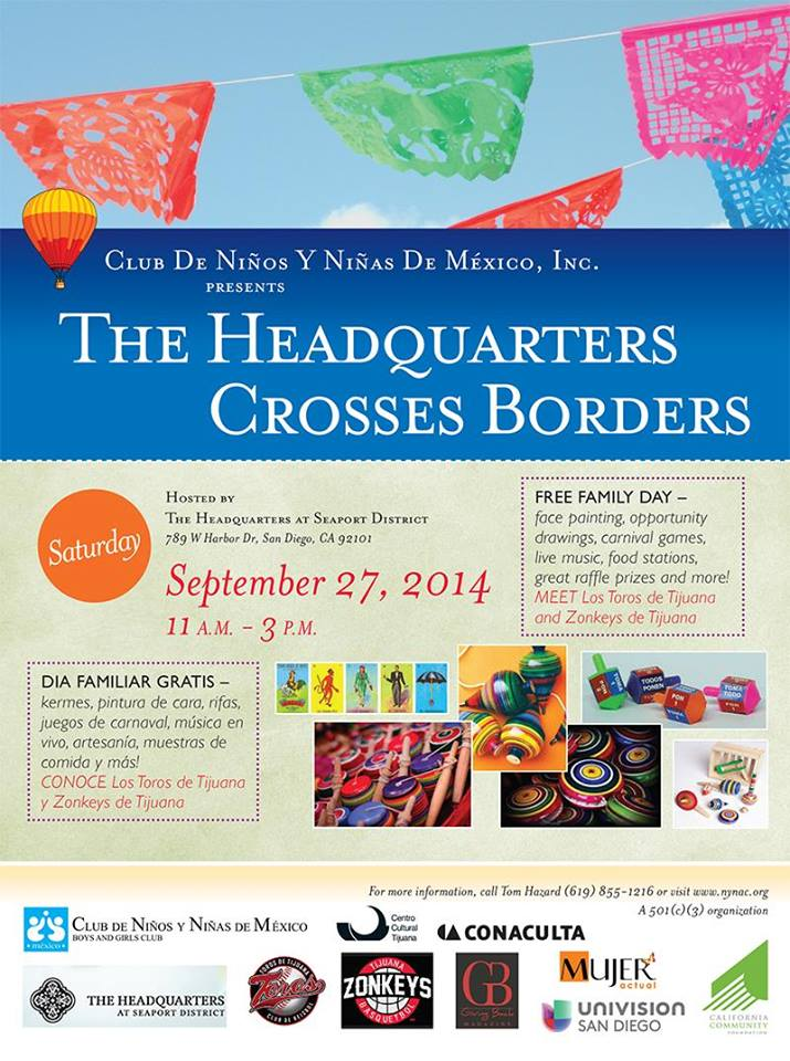 The Headquarters Crosses Borders Family Day Celebration September