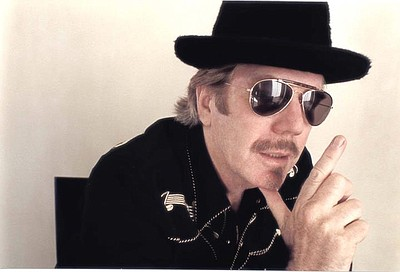 Photo of musician, Dan Hicks.