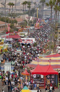Promotional photo of Crowds at the San Diego County Fair, June 7- July 6, 2014. Courtesy photo of the San Diego County Fair.