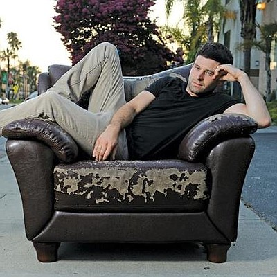 Promotional photo of comedian and actor, Brent Morin.