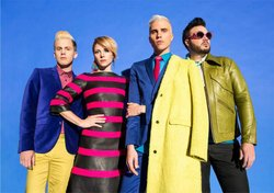 Promotional photo of Neon Trees.