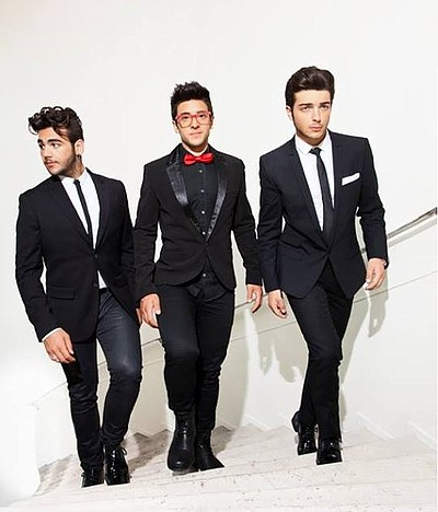 Promotional photo of Italian pop vocal trio, Il Volo.