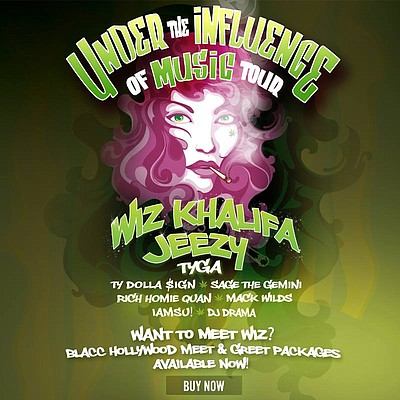 Under The Influence Tour Lineup