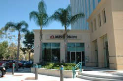 Exterior photo of a Mission Federal Credit Union in San Diego.