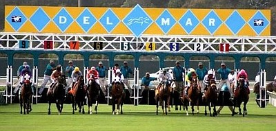 Promotional photo for Del Mar Race Track.