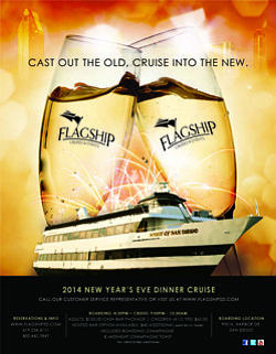 Flagship New Year S Eve Dinner Cruise December 31 2014
