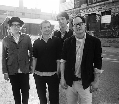 Promotional photo of rock band, The Hold Steady.