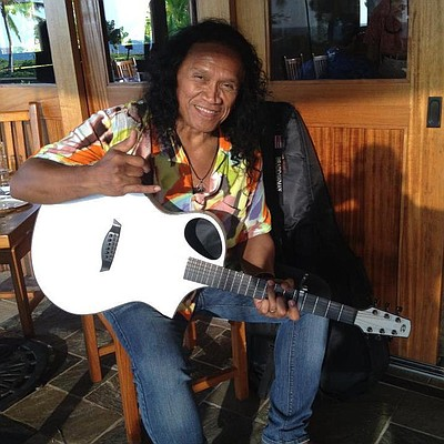 Promotional photo of famous singer/songwriter, Henry Kapono.