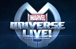 Promotional graphic for Marvel Universe Live.