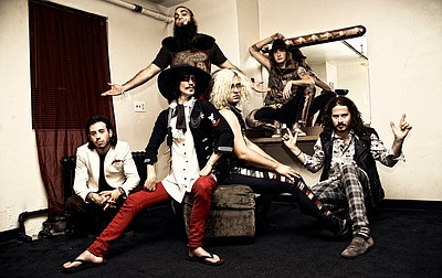 Promotional photo of the Foxy Shazam.