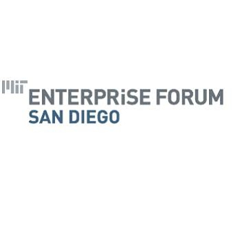 Graphic logo of MIT Enterprise Forum - San Diego.
