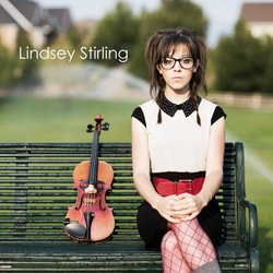 Promotional photo of violinist, Lindsey Stirling.
