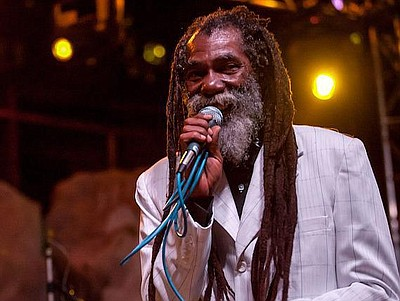 Photo of famous reggae artist, Don Carlos.