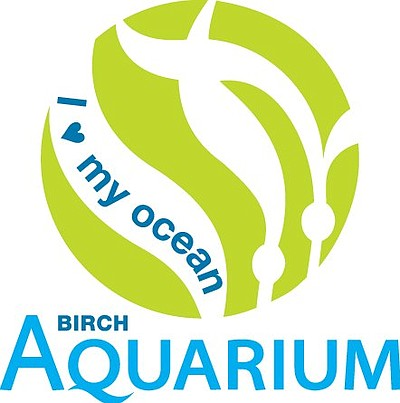 Graphic logo for Birch Aquarium, center for Scripps Institution of Oceanography at the University of California, San Diego.