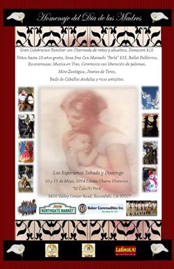 Promotional flyer for 5th Mother's Day Celebration & Cultural Extravaganza on