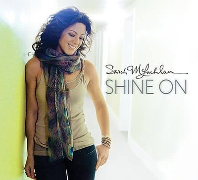 Promotional photo of singer and songwriter, Sarah McLachlan.