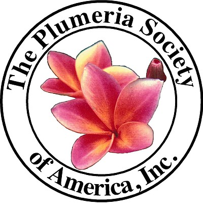Graphic logo for the Plumeria Society of America.