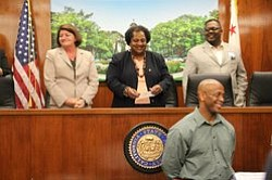 Promotional photo of Assemblymember Shirley Weber and her staff. Courtesy of Assemblymember Shirley Weber.