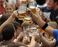 Promotional photo of the Oktoberfest Beer and Food Tour of San Diego.