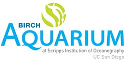 Graphic logo for Birch Aquarium at Scripps. Courtesy image of Birch Aquarium.