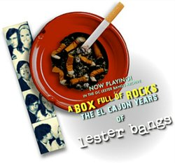"""Promotional photo for the screening and discussion of the film """"A Box Full Of Rocks: The El Cajon Years Of Lester Bangs"""" (2013) on March 24, 2014. Courtesy of Grossmont College"""