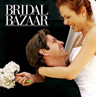 Promotional graphic for the San Diego Bridal Bazaar.