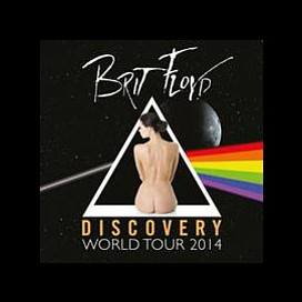 Promotional graphic for Brit Floyd's Discovery World Tour 2014. Courtesy of Brit Floyd
