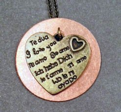 Promotional image of the Soldered Pendant. Courtesy image of the Bravo School of Art.