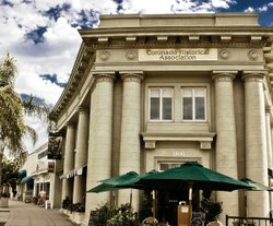 Exterior photo of The Coronado Museum of History and Art.