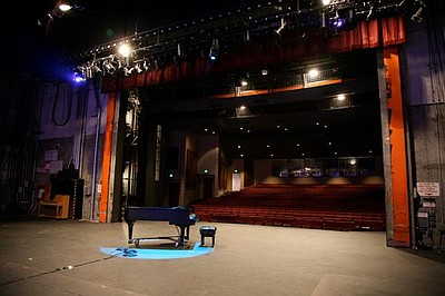 Image of the Don Powell Theatre at SDSU. Courtesy of SDSU School of Theatre, Television, and Film.