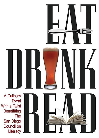 Promotional graphic for Eat.Drink.Read A Culinary Event F...