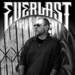 Promotional photo of rapper, Everlast.