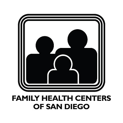Graphic logo of Family Health Centers of San Diego.