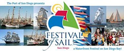 Promotional graphic for Festival of Sail August 29 - Sept...