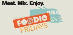 Promotional graphic for the Foodie Fridays at the La Jolla Playhouse. Courtesy image of La Jolla Playhouse.