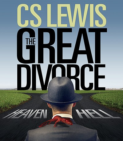 "Promotional graphic for C.S. Lewis' ""The Great Divorce."""