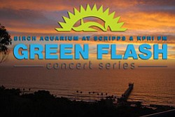 Green Flash Brewing Co's Concert Series in participation with Birch Aquarium and KPRI.
