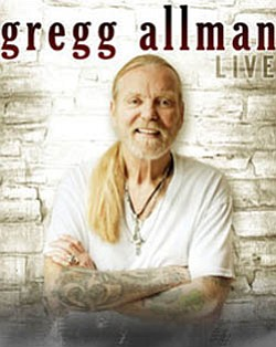 Promotional photo of Gregg Allman.
