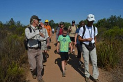 Promotional photo of Hike with a Ranger. Photo courtesy of San Diego National Wildlife Refuge.