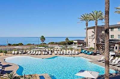 Photo of the Hilton Carlsbad Oceanfront Resort & Spa.