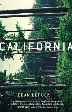 "Promotional photo of the hardcover book ""California"" by Eden Lepucki."