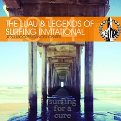 Promotional photo for the 21st Annual Luau & Legends of Surfing Invitational on August 17, 2014.