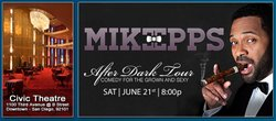Promotional graphic for the Mike Epps After Dark Tour.