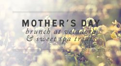 Promotional graphic for Mother's Day at Rancho Valencia Resort and Spa.