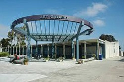 Exterior image of Mesa College Art Gallery.