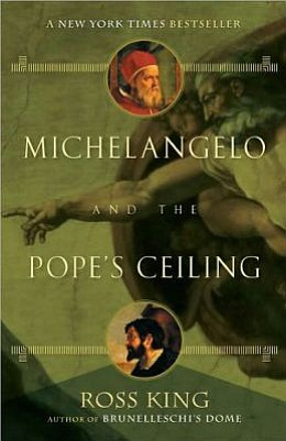 "Cover photo of the book ""Michelangelo and the Pope's Ceil..."