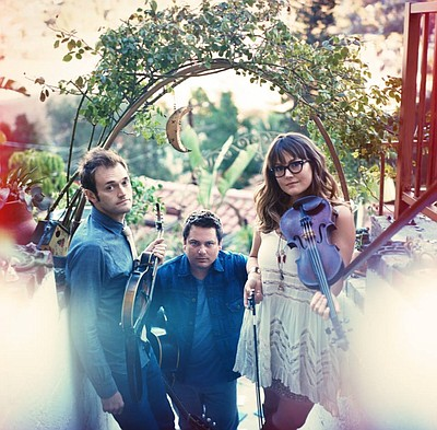 Nickel Creek performing at Balboa Theatre on May 20, 2014.